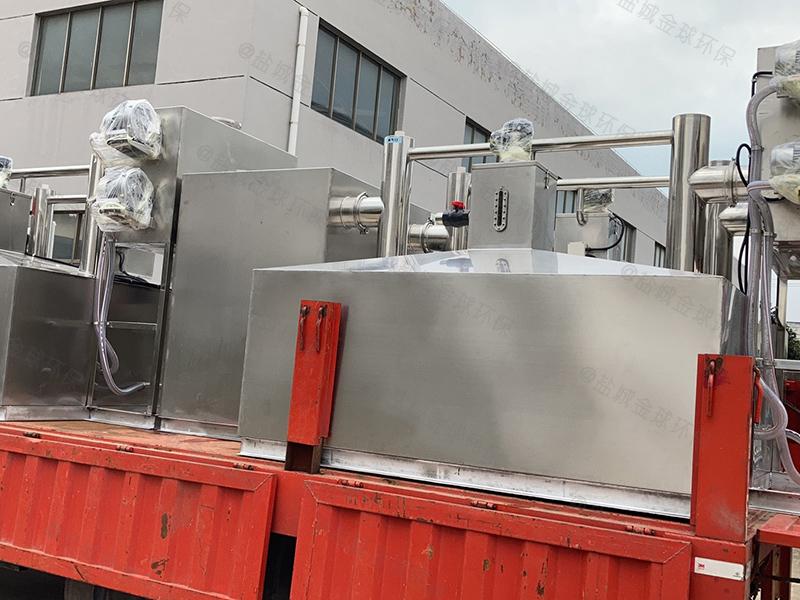 杭州埋地厨房隔油提升设备批发价格专业生产