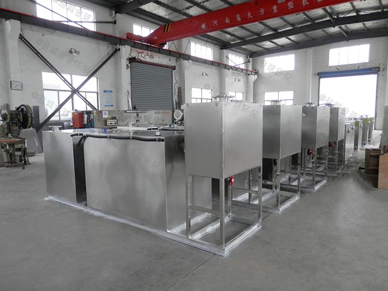 浙江新型一体化设备一体化隔油提升设备怎么安装图