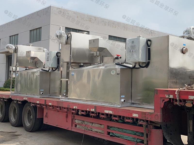 台州半自动隔油隔渣设备报价是多少优质推荐