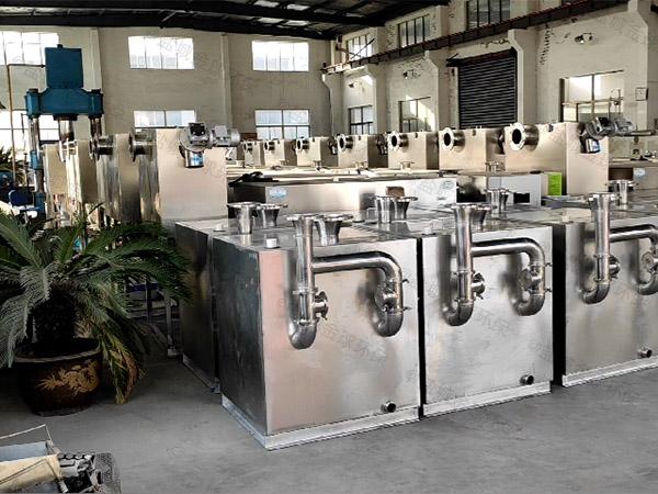 学校大型室外智能型一体化隔油池处理设备厂家价格