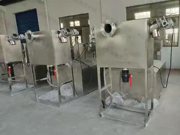 食堂用中小型地埋式机械油水分离机市场前景
