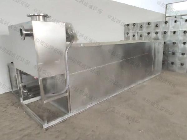工地食堂大型埋地全能型污水处理油水分离器使用说明书