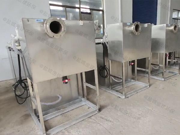食堂大简易隔油污水提升装置内部结构
