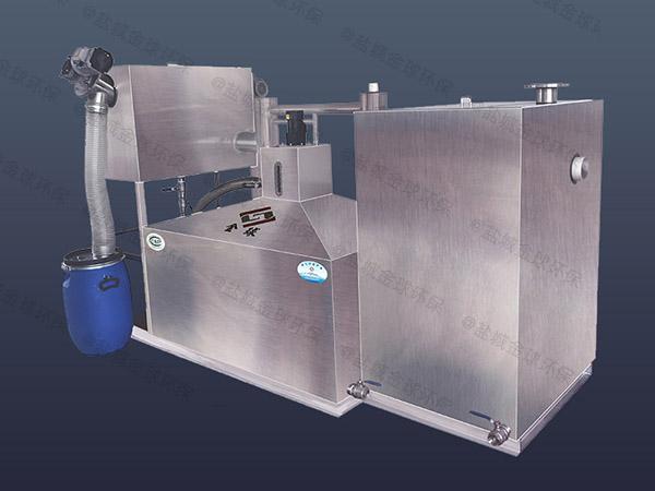 家庭地下室简易隔油池提升一体化设备保养
