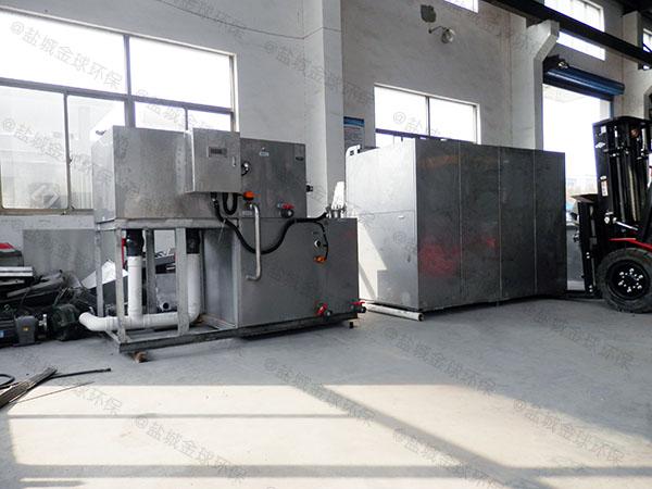 饭馆地下式大型多功能隔油提升一体化产品介绍
