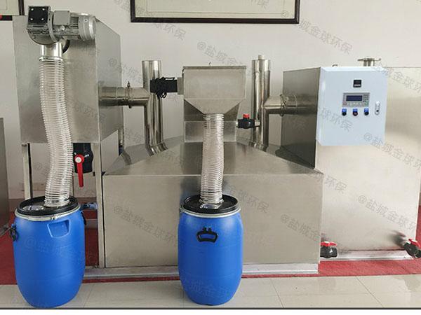 学校大型地埋智能型气浮油水分离器合格证