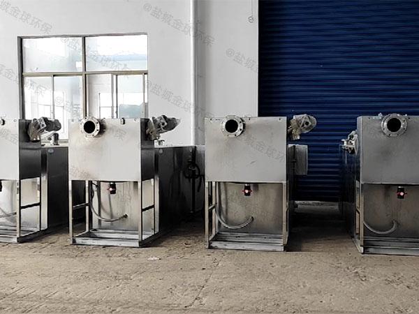 厨房地面移动隔油除油设备使用要求