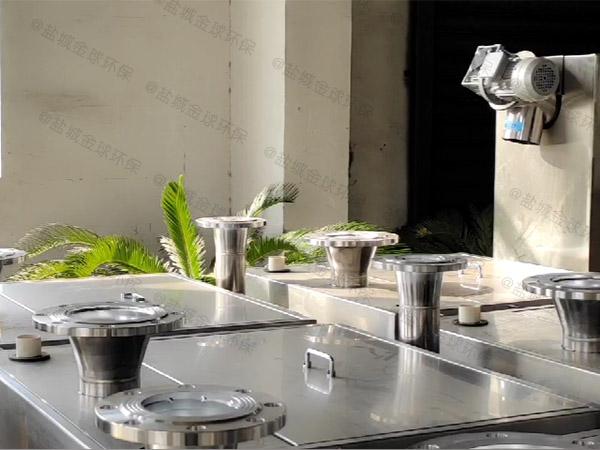 小饭店大型无动力油水分离器一体化多钱