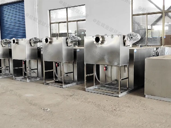商用埋地简单油水分离污水处理设备样品