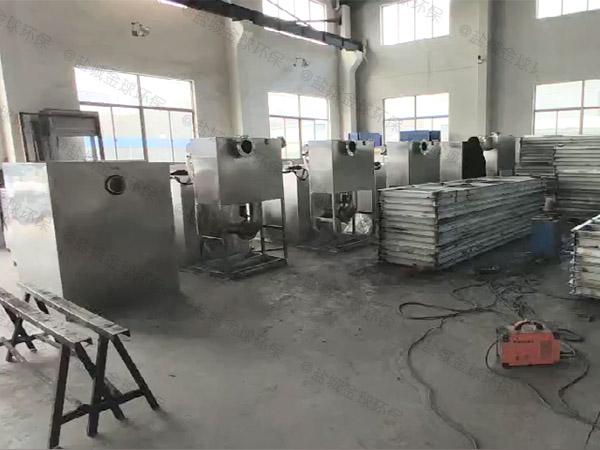 火锅专用地面智能型油脂分离器有效容积