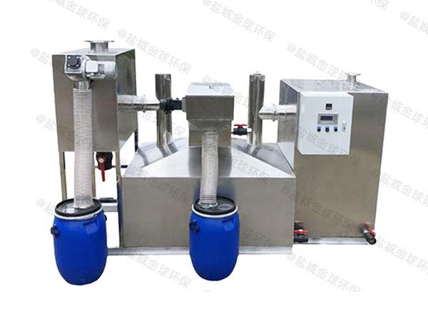 火锅店地面自动除渣油水分离器一体化行业市场