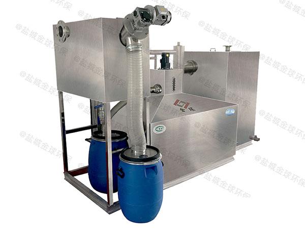 餐厅地埋半自动油水过滤分离器起什么作用