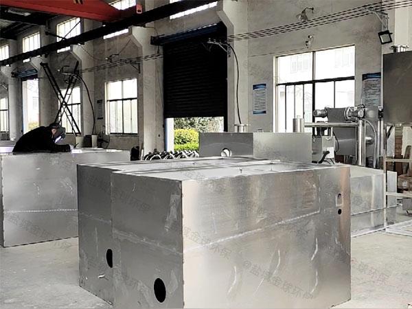 厨房埋地式中小型半自动一体式隔油提升设备直销