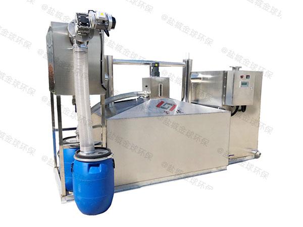商家大型地埋式自动化油脂分离器用途