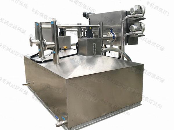 饭馆地埋式中小型自动除渣气浮隔油设备生产商
