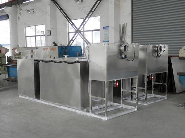 厨余大型地下室机械油水分离处理装置的图片