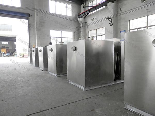 后厨大型埋地自动提升一体式油水分离器哪里有卖