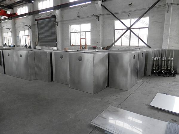 厨下型中小型地下自动提升油脂分离机厂商