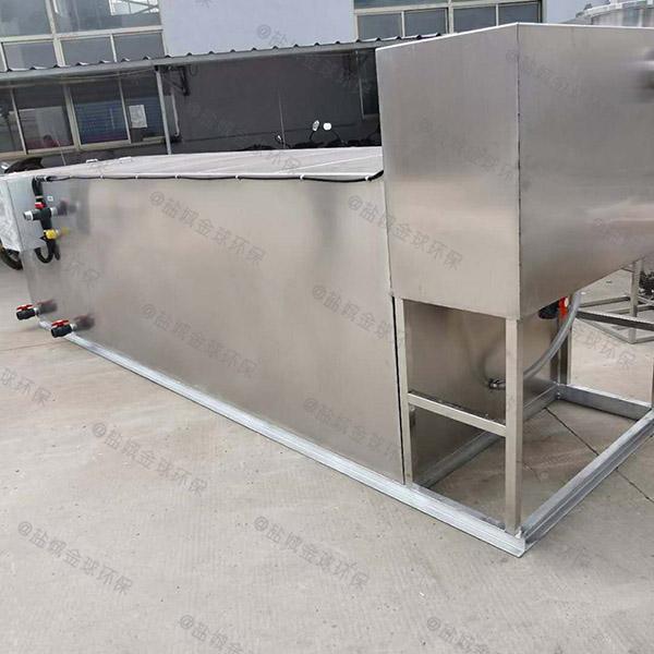小饭店中小型全自动隔油池提升一体化设备选择