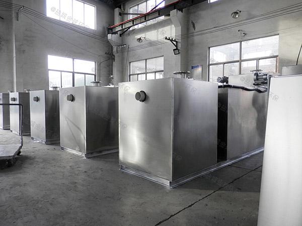 餐饮专用大型地下式智能化排污隔油池的设计规范