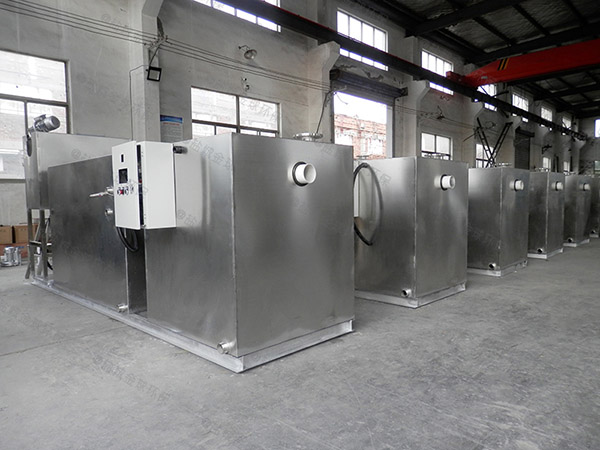 餐饮专用大室内移动式油水处理设备定额