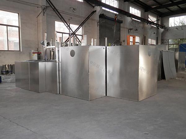 商场中小型地面式自动排水不锈钢隔油设备市场