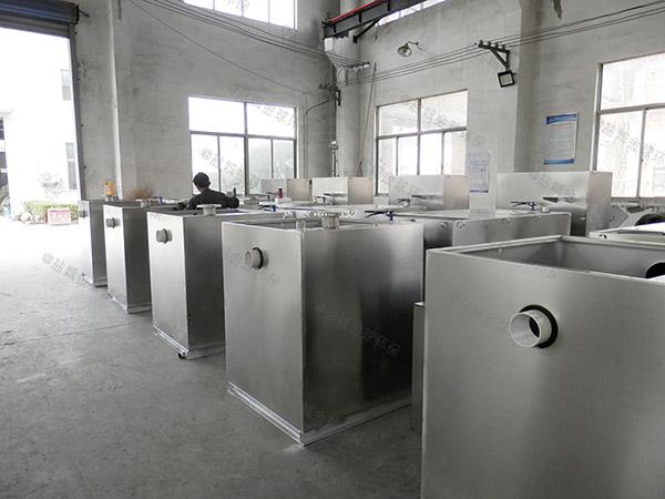 中餐埋地式中小型多功能一体化隔油污水提升设备放在哪里