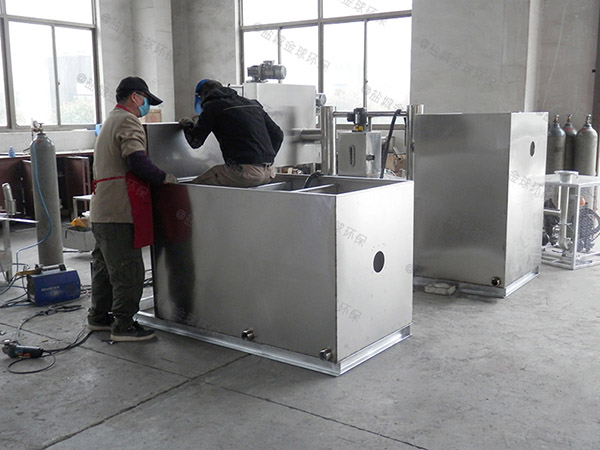 居家用户外智能型油水分离处理机器使用寿命