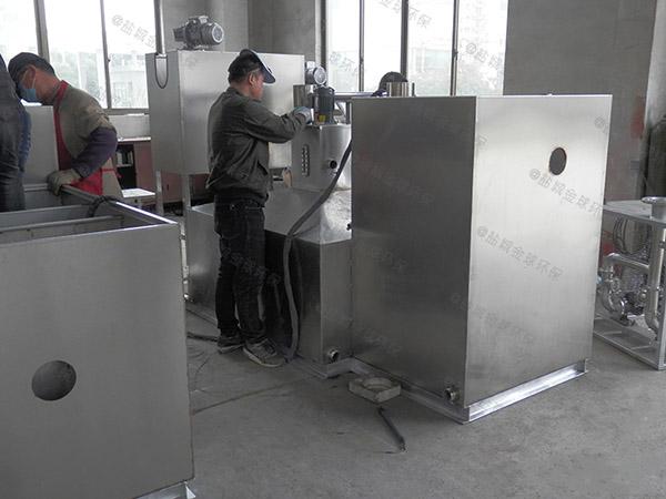 商用地下室中小型移动式废水隔油器销售