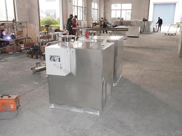 工地中小型地上自动化隔油提升装置怎么装