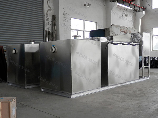 食堂用地下机械隔油器提升设备施工工艺
