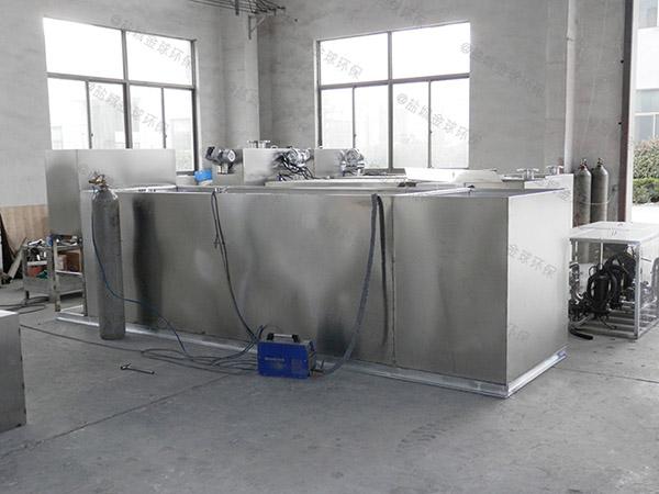 饭堂地上分体式隔油过滤器应用范围
