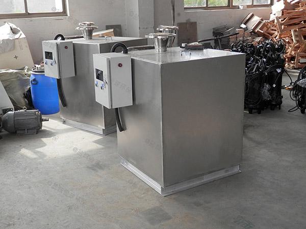 商场餐饮地埋式移动式隔油除渣设备市场分析