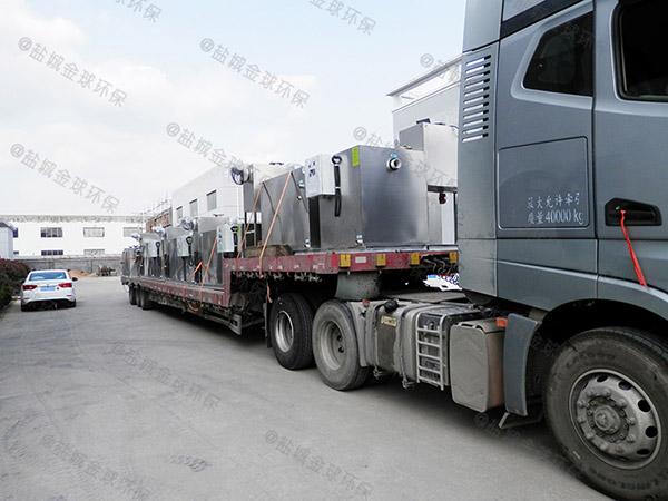 工厂食堂埋地式机械隔油池提升设备技术要求