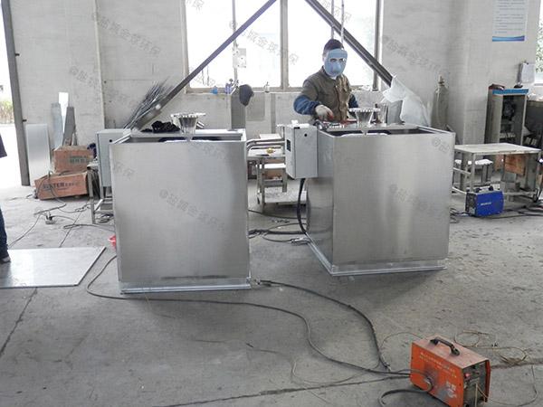 饭堂中小型地埋式移动式隔油除渣一体化设备销售
