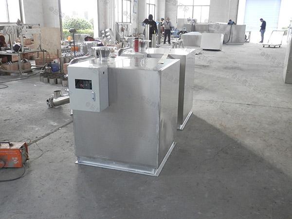 工地大地下无动力隔油器提升设备设计要求