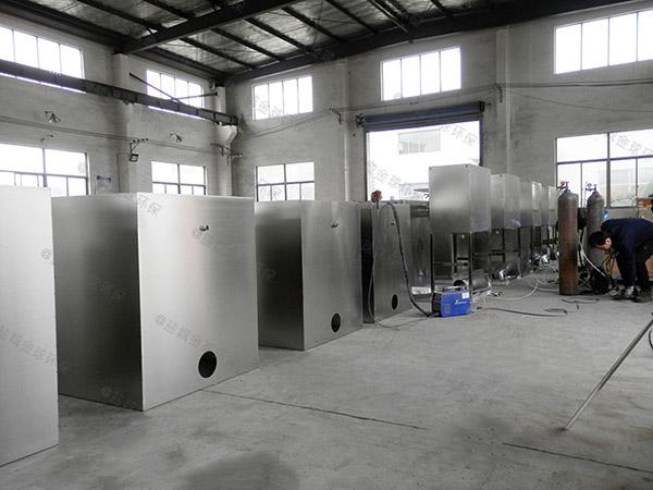 厨房用大型自动隔油提升设备一体化装置操作规程