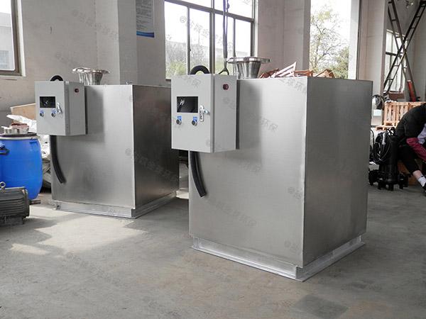 饮食业地下式自动化油水分离过滤设备哪家质量好