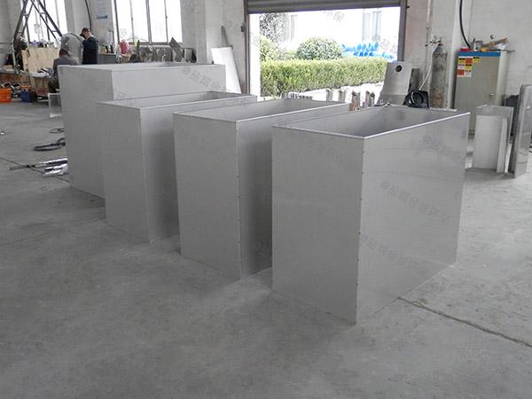 单位食堂中小型埋地全能型隔油池自动刮油标准