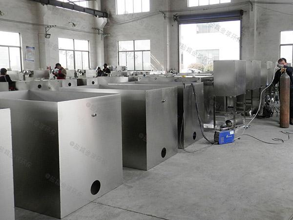 火锅室内大型自动化斜流式隔油池停留时间