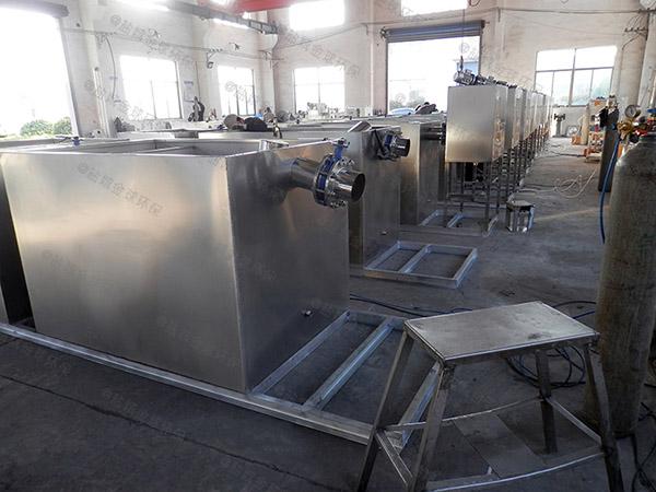 小饭店大埋地自动刮油隔油污水提升装置哪里好