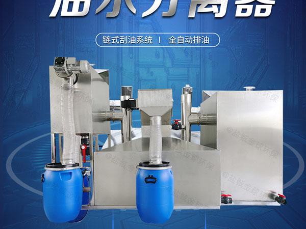 工地中小型地埋式简易隔油提升设备厂家