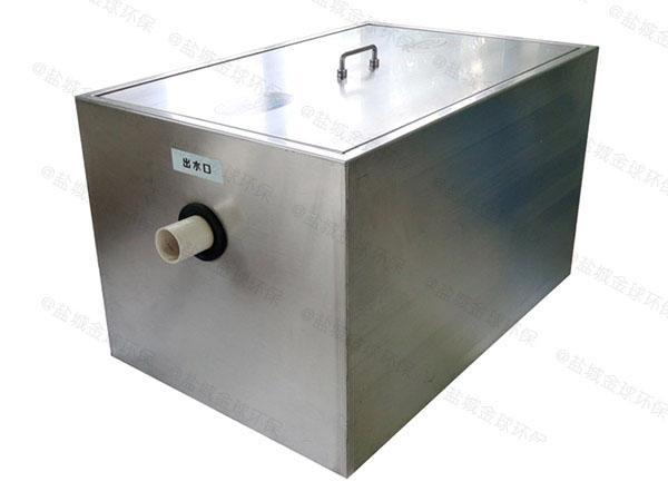 餐饮专用中小型地埋式移动式气浮式油水分离机怎么计算