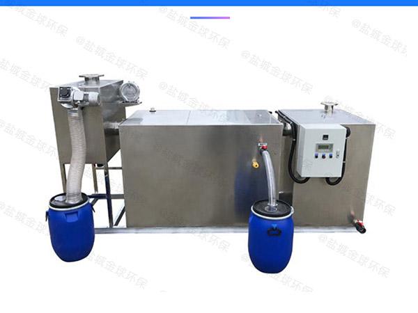 商用中小型地埋式全能型污水隔油池怎样使用