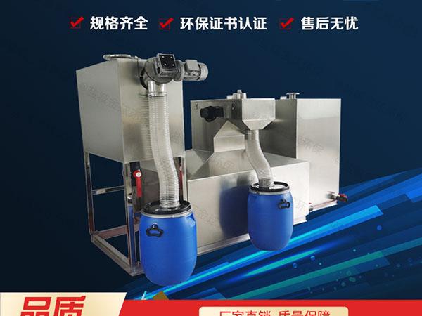 商家大地下移动式潲水油水分离器属于粗滤吗