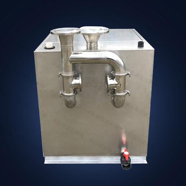 饭堂大地下室移动隔油污水提升设备的组成