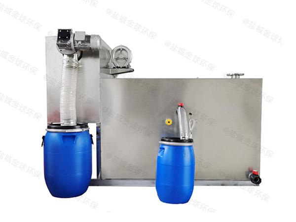 餐馆地面式简易油脂分离器生产