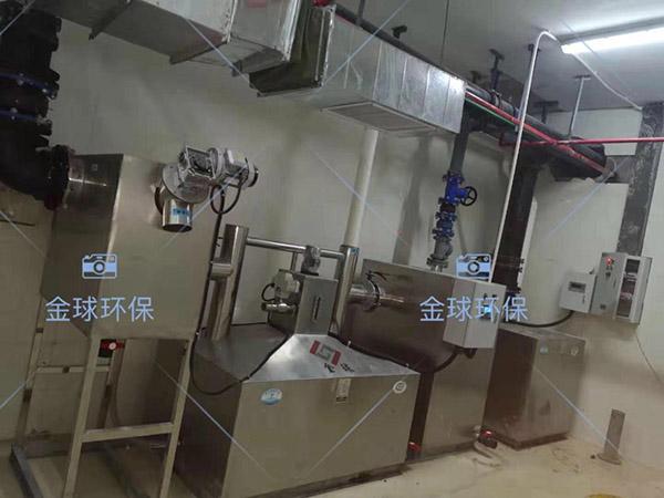 火锅专用室外大型组合式成品隔油池供应商