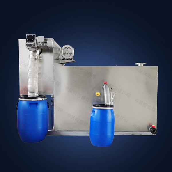 商场大室外自动化一体化隔油污水提升设备行业