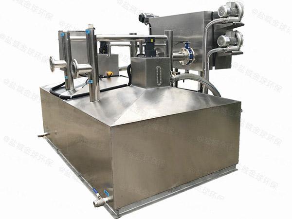 火锅专用中小型地下式自动刮油气浮式隔油设备市场分析
